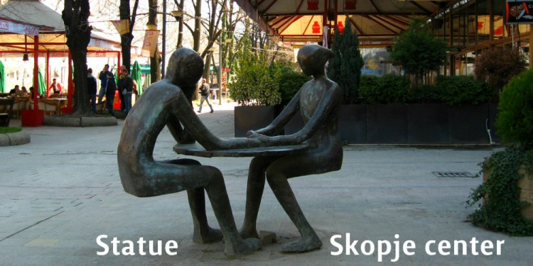 statues skopje