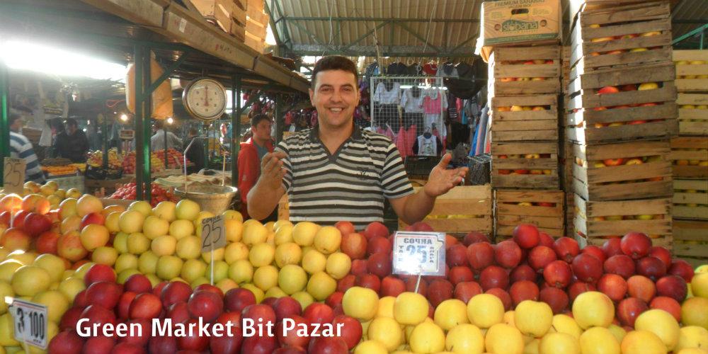 Bit Pazar Green Market Skopje